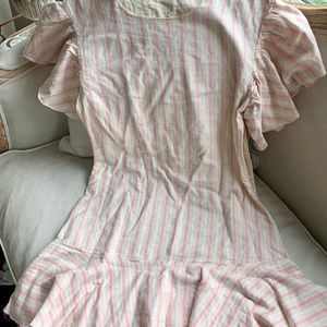 Loveshackfancy  linen dress NWOT